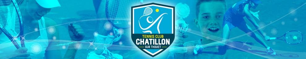 Tennis Club de Châtillon sur Thouet Logo