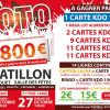 Le loto du club est organisé les 26 & 27 octobre